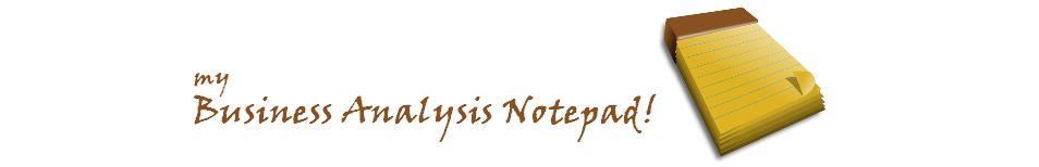 Business Analysis Notepad