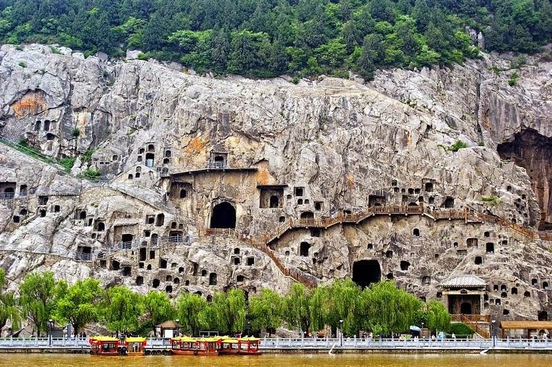 Kết quả hình ảnh cho longmen grottoes