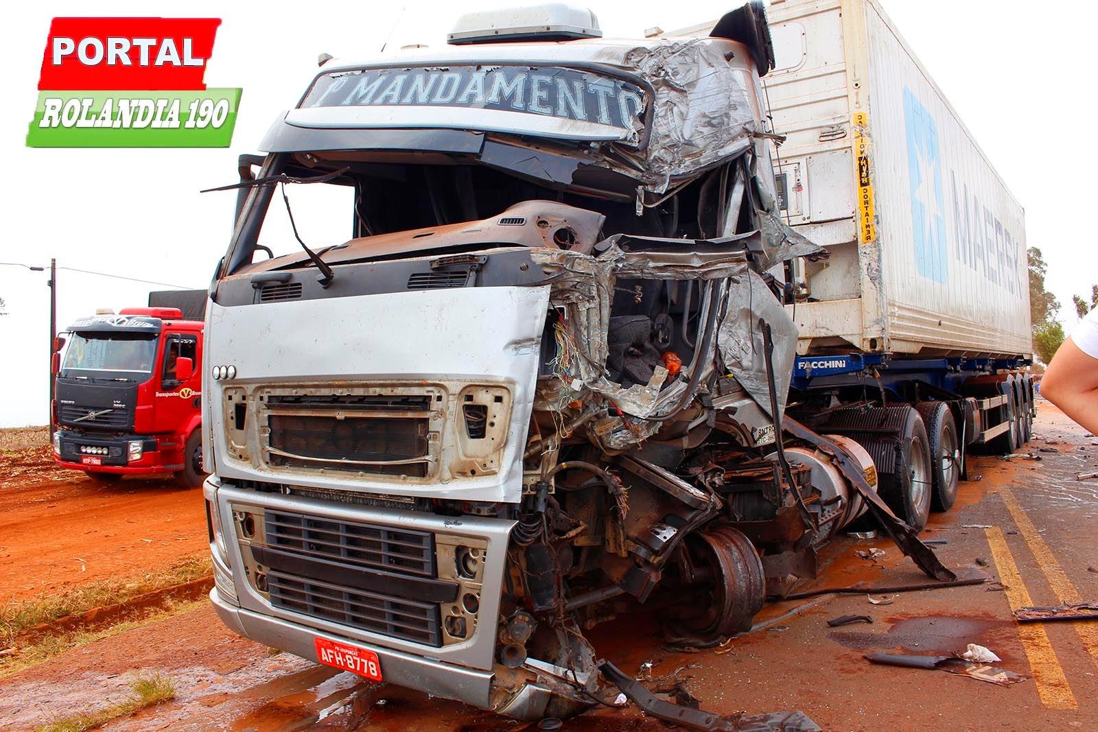 Rolândia 190 - Notícias de Rolândia -  acidente carreta