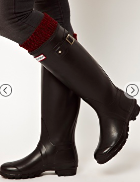 Hunter boot wellies in the ASOS sale - my fashion favourites