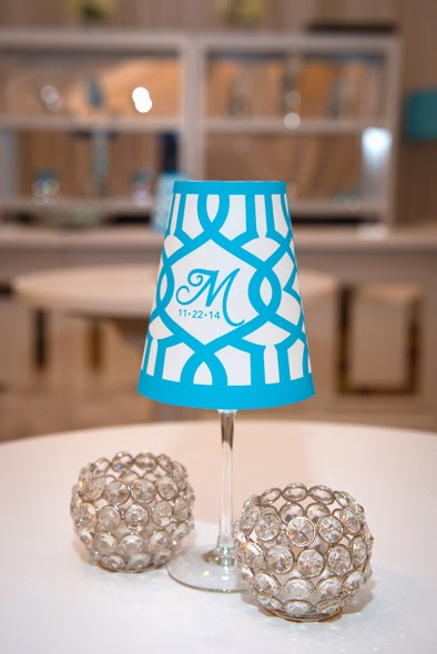 Custom wineglass shade