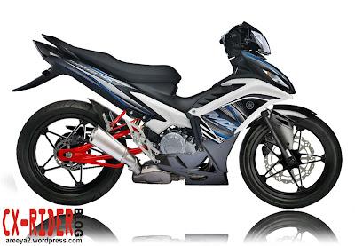 Yamaha Jupiter MX Minimalis Modif