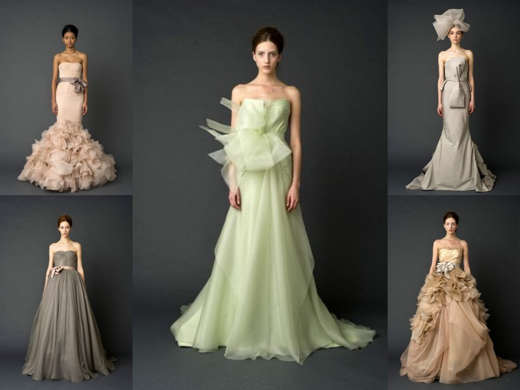 Coloured wedding dresses in the uk
