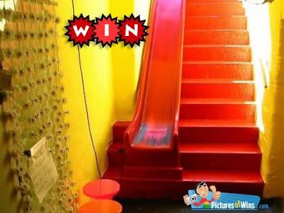 l 39 escalier toboggan un sujet glissant initiales gg. Black Bedroom Furniture Sets. Home Design Ideas