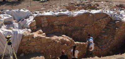 Des coquillages écrasés déterrés dans la ville antique de Paphos