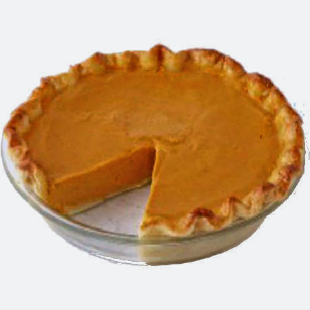 One Perfect Bite: Caramel Pumpkin Pie