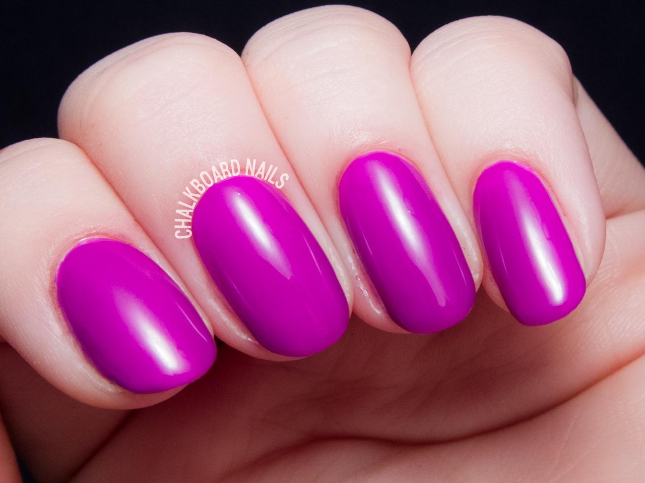 China Glaze Violet Vibes via @chalkboardnails