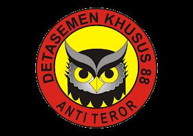 Densus 88 Anti Teror Logo Vector download free