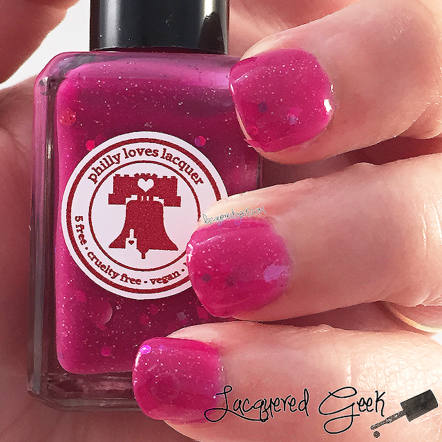Philly Loves Lacquer The Best Day of the Year nail polish swatch and review by Lacquered Geek