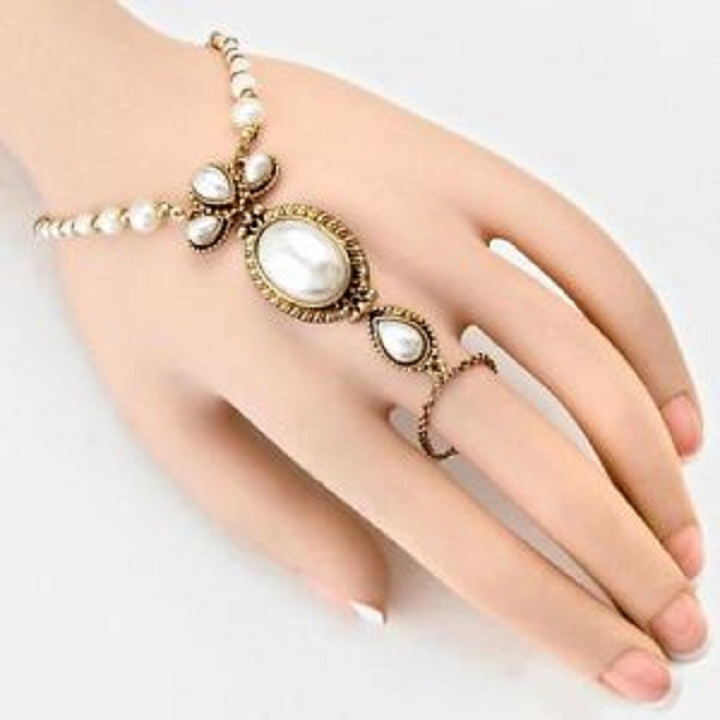 Beautiful Chain Ring Bracelet Fashion Jewelry 2015 Wallpapers Free ...