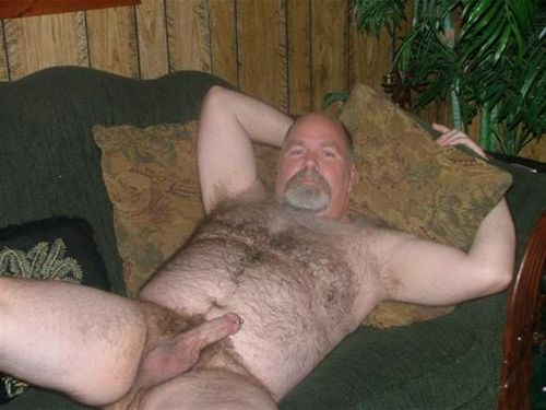 hairy old men nude with big dicks