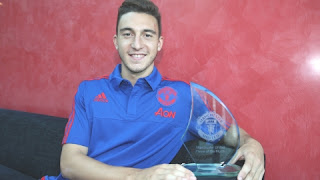 Matteo Darmian Player of the Month United