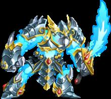 imagen del monstruo thorder de monster legends