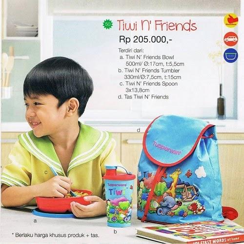 Tiwi N Friends Tupperware