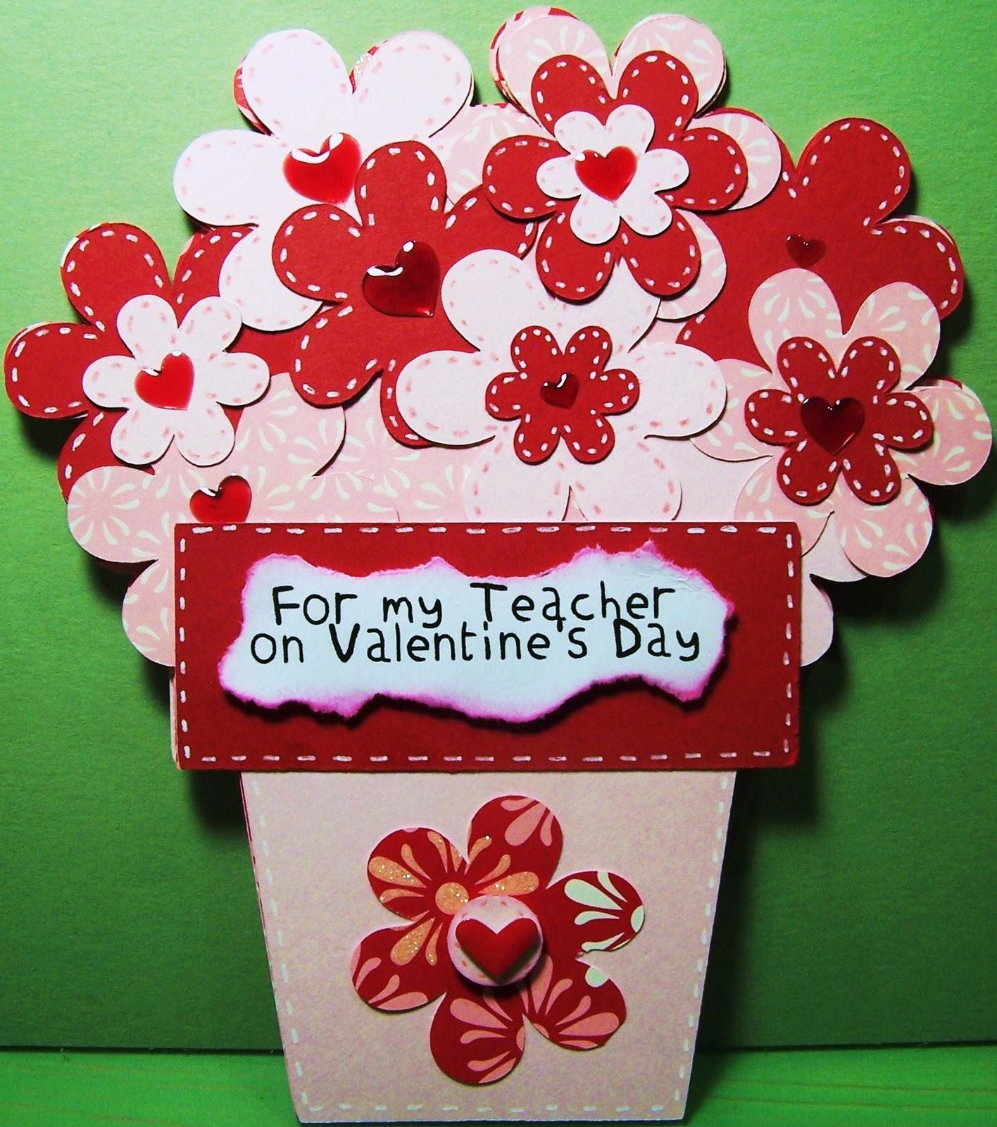 Bumblebee Creations My Emilys Teachers Valentines Day Card