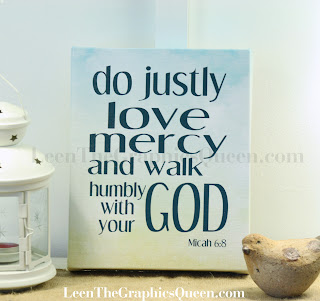 bible verse, canvas art print
