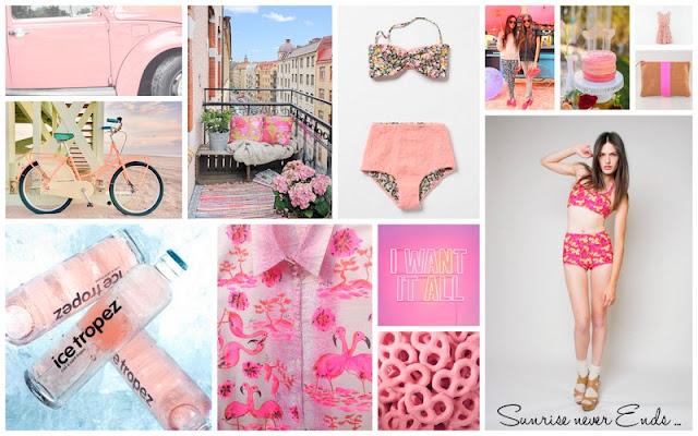 inspirations,moodboard,pink,rose,summer 14