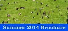 Summer 2014 Events Brochure