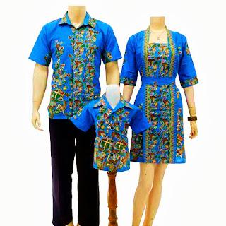 SK026 Sarimbit Batik Keluarga Pasangan Solo 2013