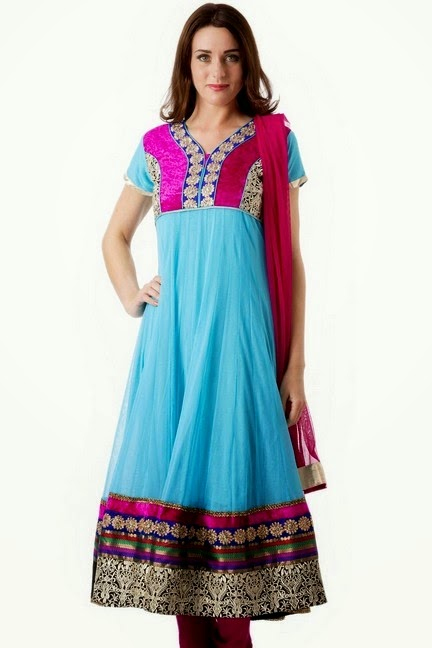 Churidar Salwar with Frock