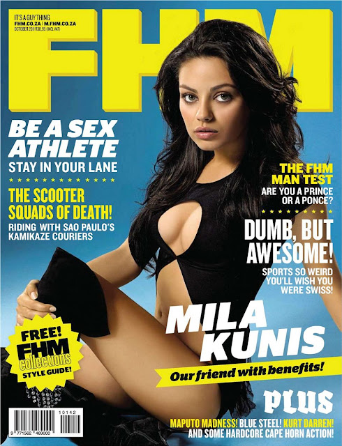 Mila Kunis-FHM South Africa