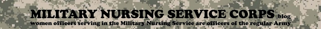 MILITARY NURSING SERVICE CORPS blog