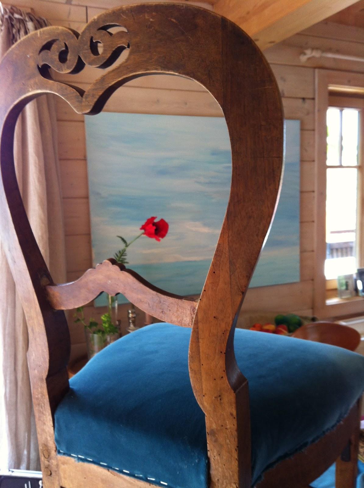 Alte Stühle neu eingekleidet... | leimgruber innenraum