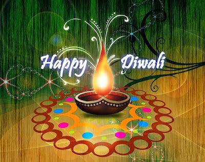Happy Diwali 2014 Greeting Card HD Wallpaper Timeline Cover