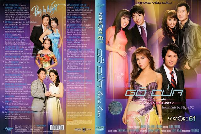 PBN Karaoke 61: Gõ Cửa Trái Tim (DVD9)