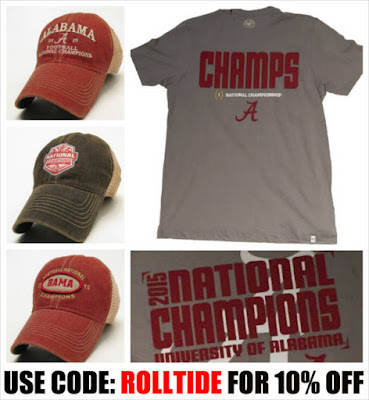 alabama national championship hats