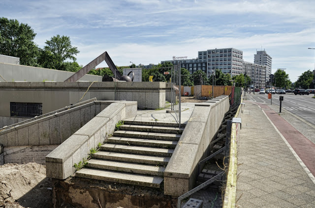 Baustelle Staatsbibliothek zu Berlin, Potsdamer Straße 33, 10785 Berlin, 17:06.2013