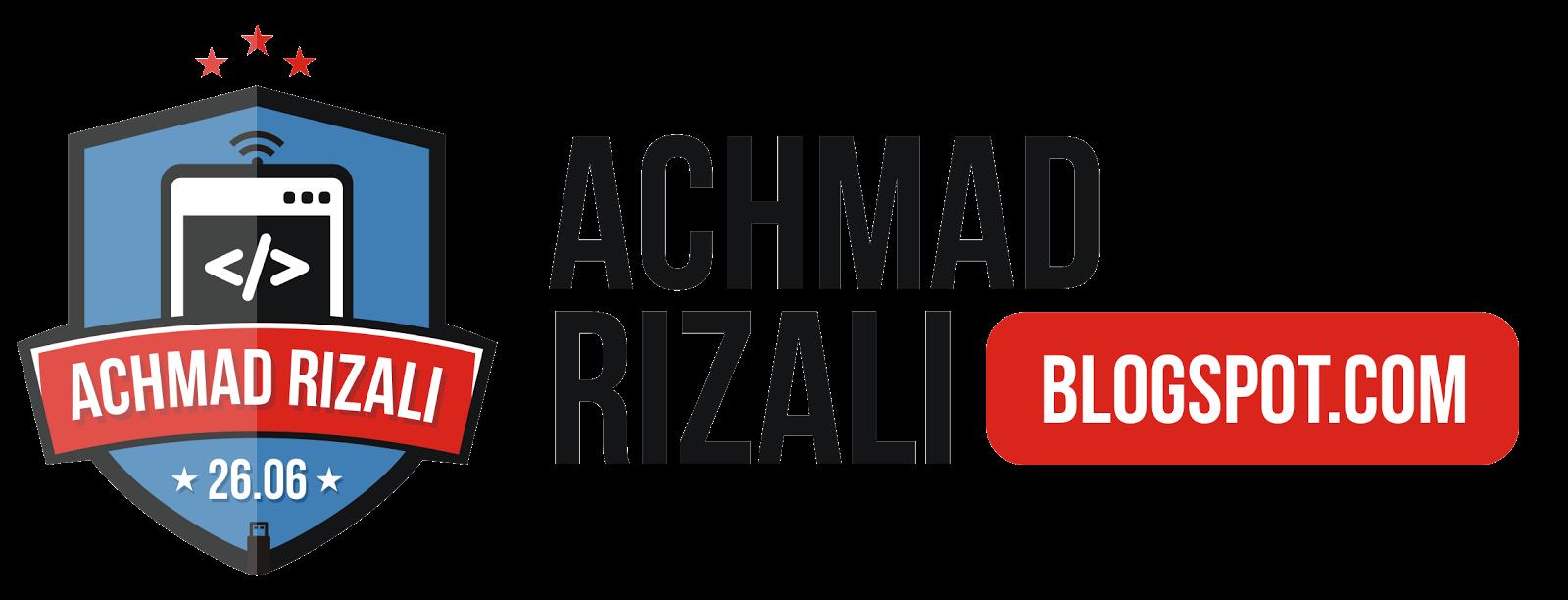 Achmad Rizali