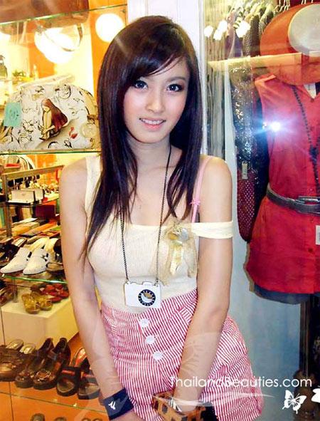 Ảnh gái xinh Thái Lan thật giả lẫn lộn 1