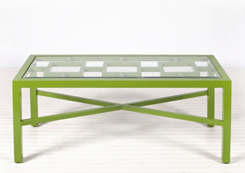 Green Winter Harbour Coffee Table