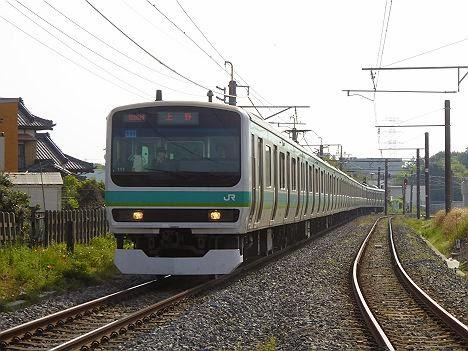 上野 E231系