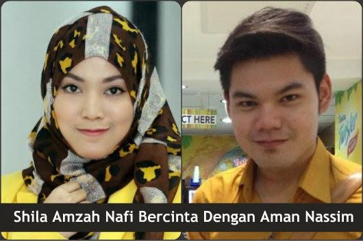 Shila Amzah Nafi Bercinta Dengan Aman Nassim