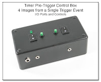 Timer Pre-Trigger Control Box (4 images from a Single Trigger Event)