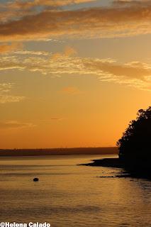 photo of the sun rise in Alcochete