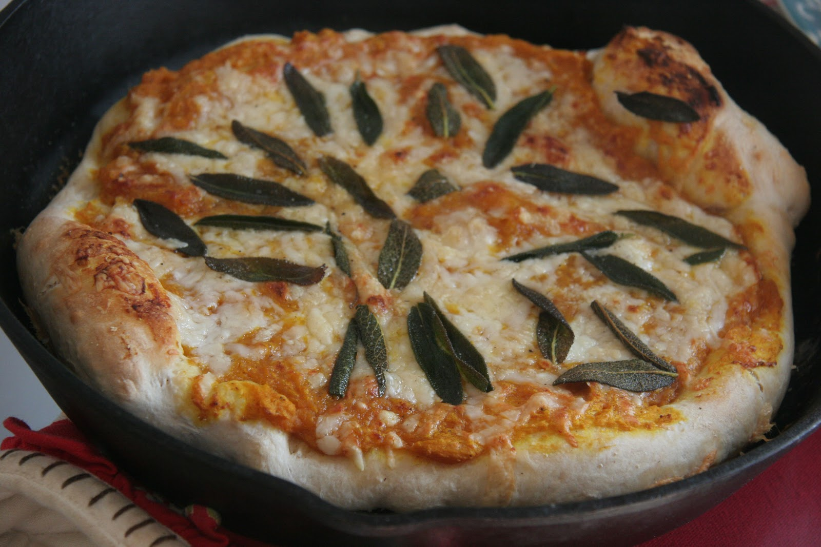 sage sauce pumpkin pizza with crispy sage recipe yummly pumpkin ...