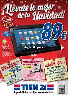 Tein21 catalogo de navidad 2012
