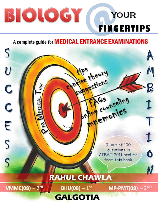BIOLOGY @ YOUR FINGERTIPS - A Last Minute Revision Guide For Medical Entrance Examinayions