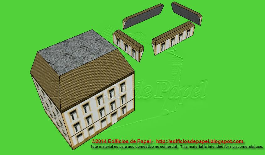 Las buhardillas se diseñaron como piezas independientes para facilitar el montaje