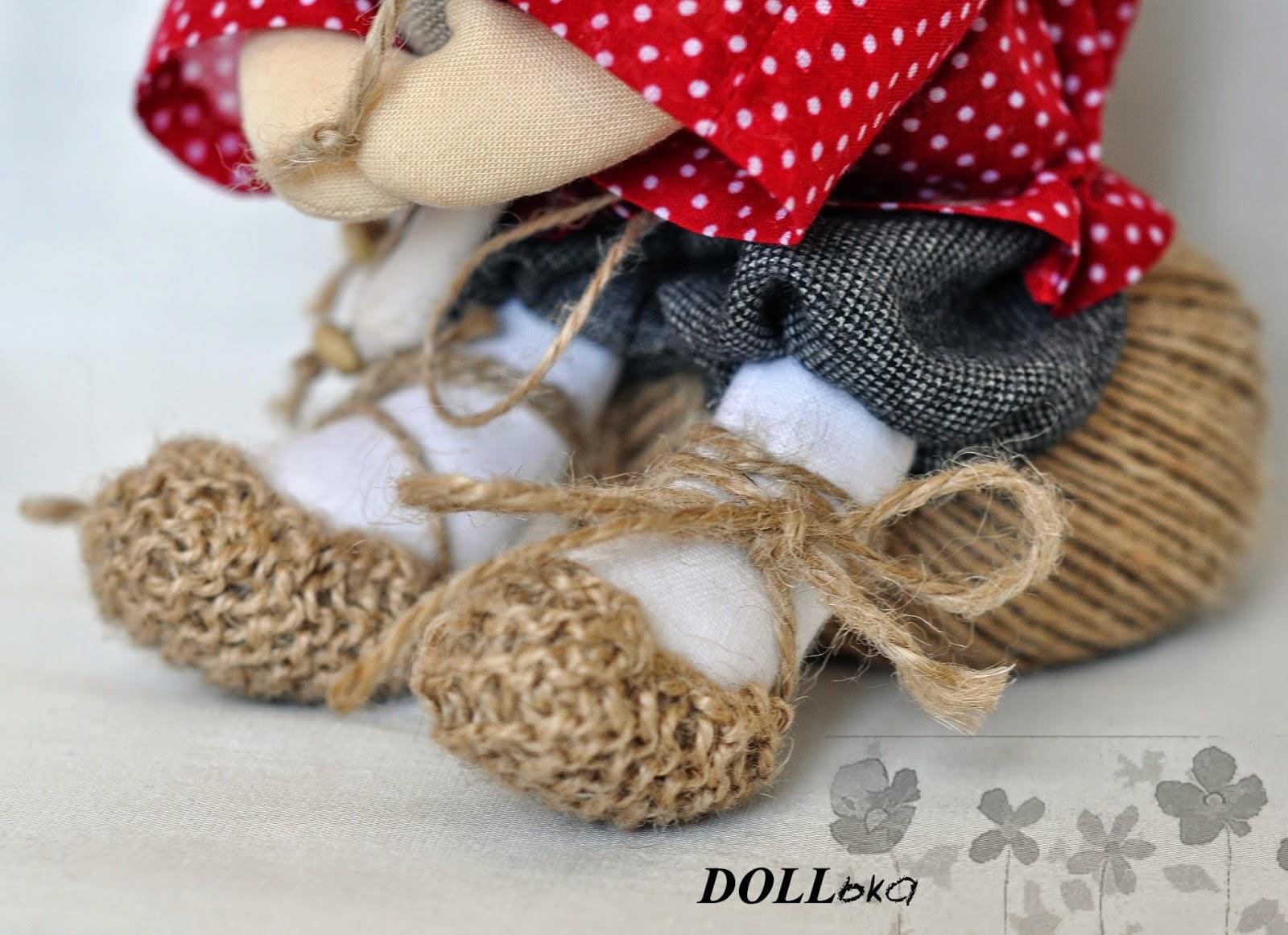 домовой текстильная игрушка ручной работы