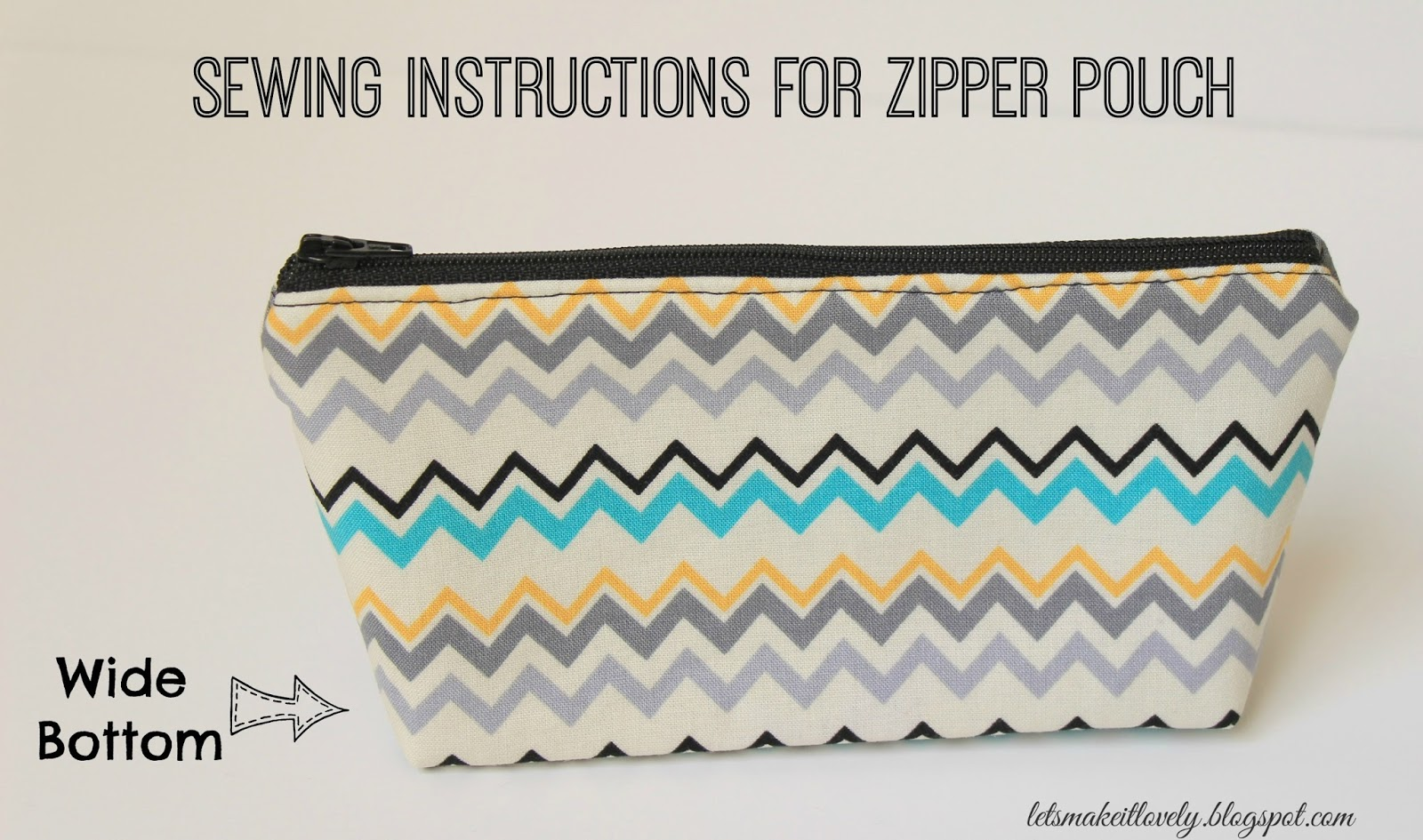 Sewing a Zipper Pouch Tutorial