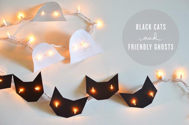 halloween fiesta iluminación decoración DIY handmade drácula manualidades