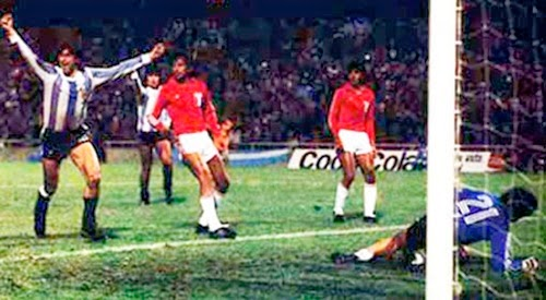 Jogo Argentina 6 Peru 0 copa 1978, jogo mais polemico.