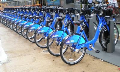 Citi Bikes - Times Square