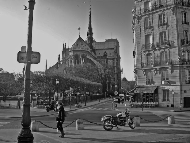 Black and White Paris Photography