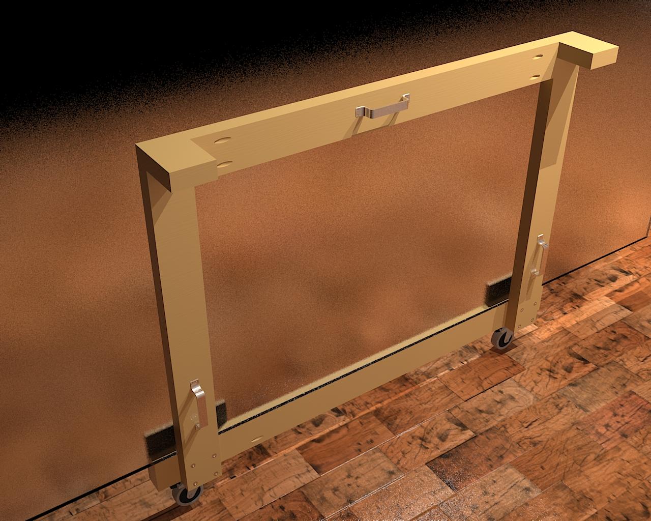 Diy Drywall Plywood Panel Carrier