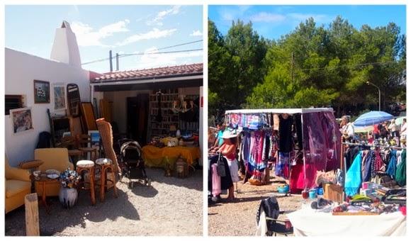 Ibiza flea market